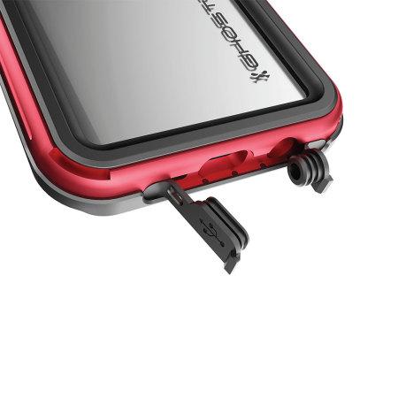 Ghostek Atomic 3.0 Samsung Galaxy S8 Waterproof Case - Red
