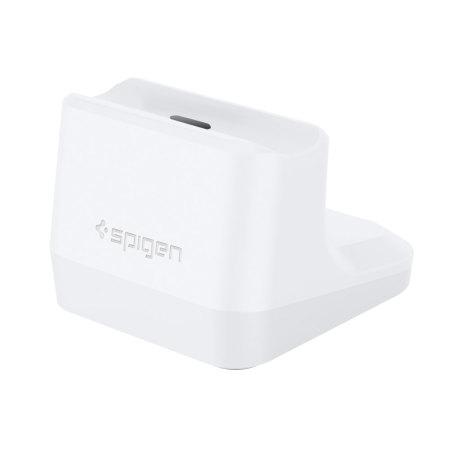 Spigen S313 Apple Airpods Stand - White