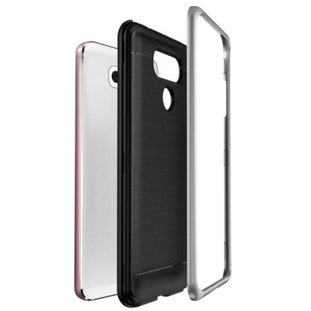 VRS Design High Pro Shield Series LG G6 Case - Light Silver