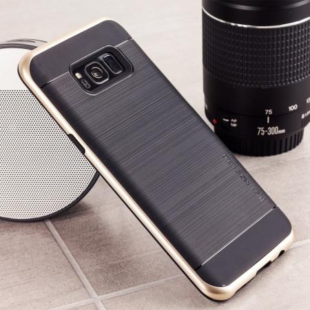 Funda Samsung Galaxy S8 VRS Design High Pro Shield - Oro