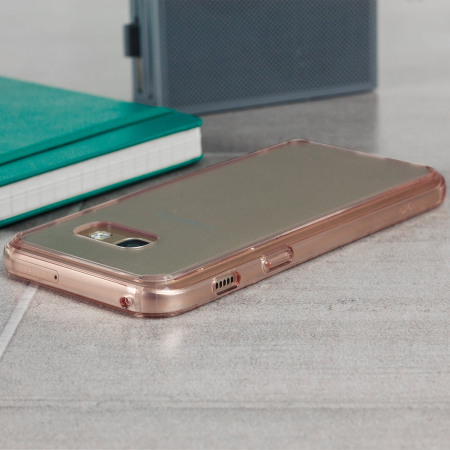 Rearth Ringke Fusion Samsung Galaxy A3 2017 Case - Rose Gold