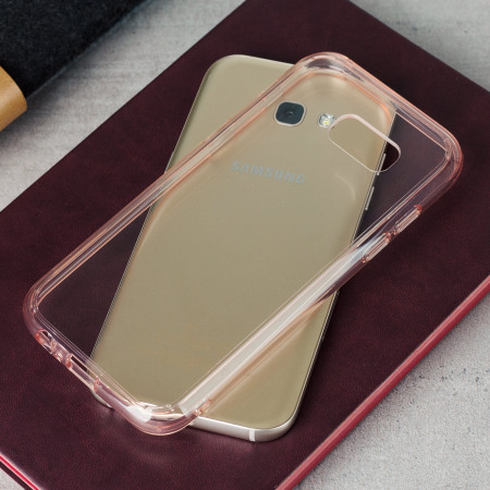 Rearth Ringke Fusion Samsung Galaxy A5 2017 Case - Rose Gold