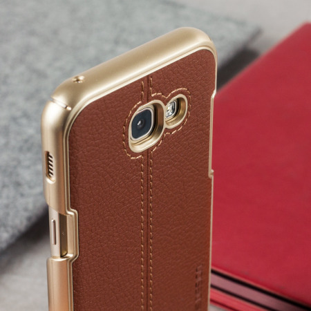 would vrs design simpli mod leather style samsung galaxy a5 2017 case brown disabled and, try