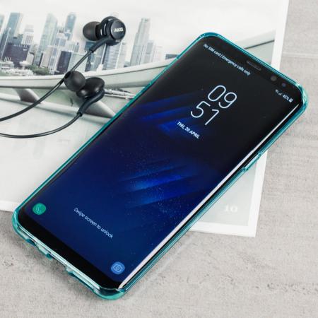 Olixar FlexiShield Samsung Galaxy S8 Plus Gel Case - Blue
