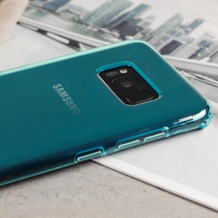 Coque Samsung Galaxy S8 Plus FlexiShield - Bleue