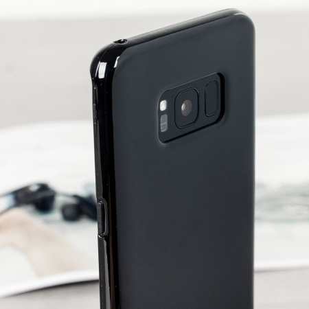 LENOVO olixar flexishield samsung galaxy s8 plus gel case solid black addition