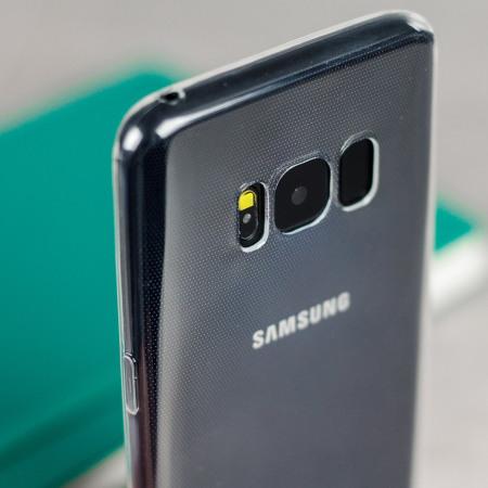 Cas De Gel Turquoise Transparent Pour Samsung Galaxy S8, Plus