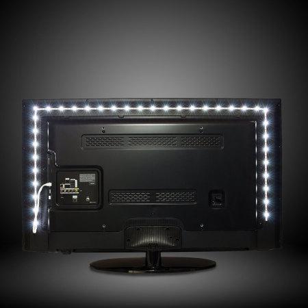 AGL Colour Changing 50cm LED Strip USB TV Backlight Lighting Kit