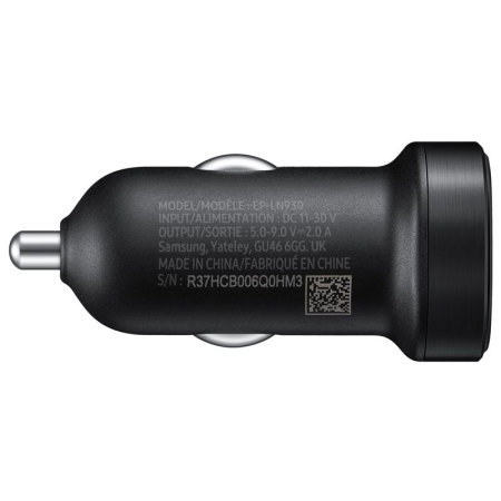 official samsung mini usb c adaptive fast car charger black in: Use SVG