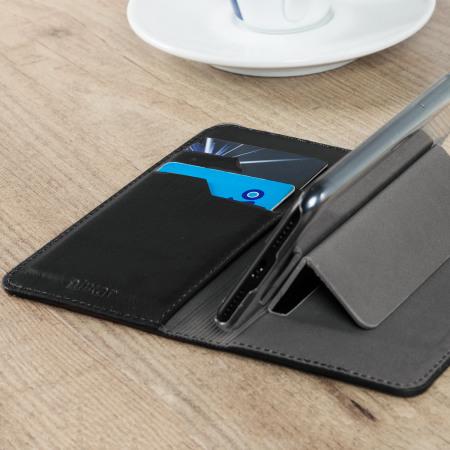 Olixar Genuine Leather OnePlus 3T / 3 Executive Plånboksfodral - Svart