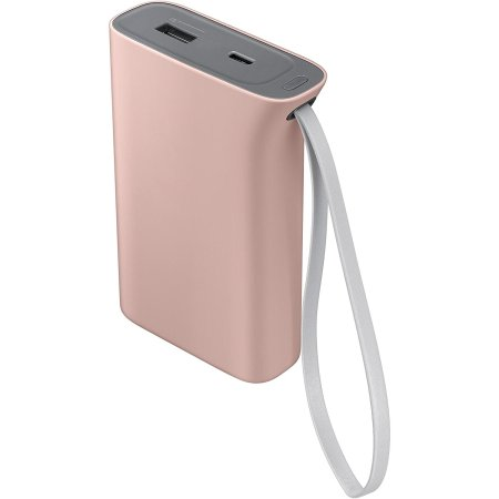 Official Samsung Evo Portable 5,100mAh Battery Pack - Baby Pink