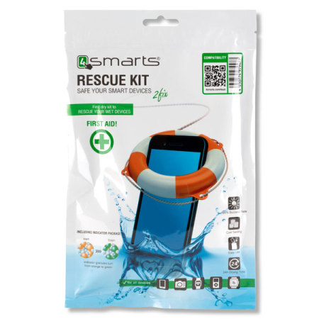 4smarts Universal Smartphone Water Damage Rescue Kit