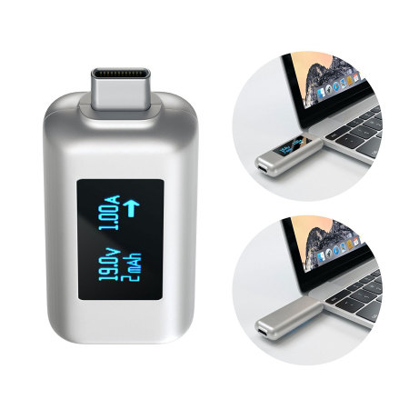 its satechi universal usb c power meter 2 two cameras