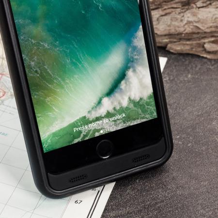 slim fit 4,000mah iphone 8 / 7 plus battery case - black