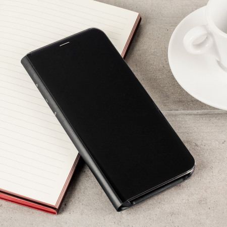 Cover originale Clear View Samsung per Galaxy S8 - Nero