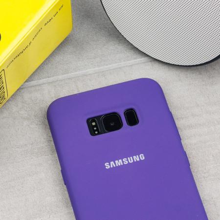 coque samsung s8 violet