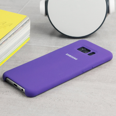 Official Samsung Galaxy S8 Silicone Cover Case - Violet