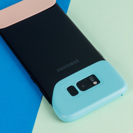Official Samsung Galaxy S8 Pop Cover Case - Mint Green