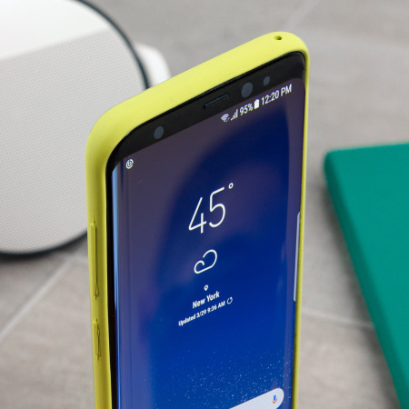 reputable site 639ae 54199 Official Samsung Galaxy S8 Plus Silicone Cover Case - Green