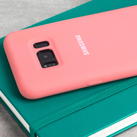 Official Samsung Galaxy S8 Plus Silicone Cover Case - Pink