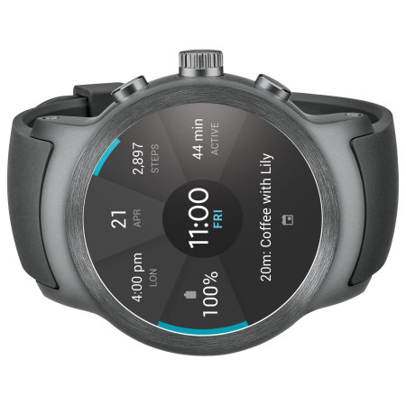 LG Watch Sport Android Wear 2.0 Smartwatch