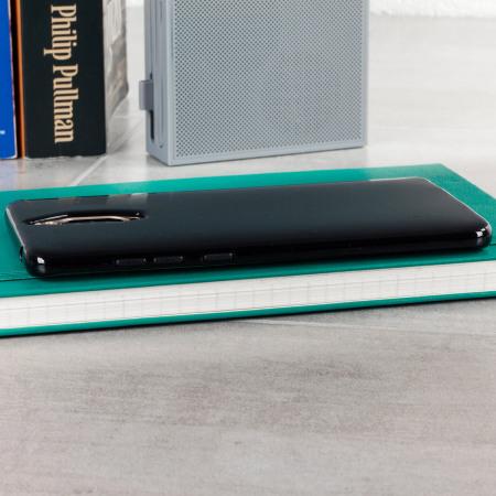 Olixar FlexiShield Huawei Mate 9 Pro Gel Case - Solid Black