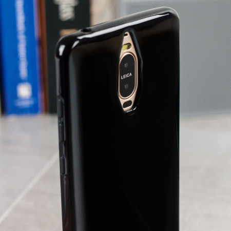 it's olixar flexishield huawei mate 9 pro gel case solid black