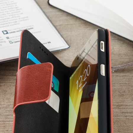 charging, and this olixar leather style samsung galaxy a5 2017 wallet case brown 2 hardware