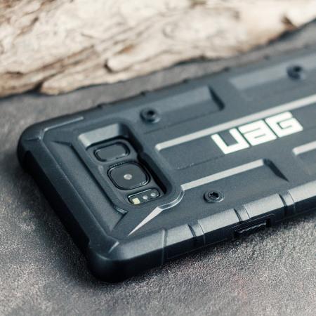 UAG Pathfinder Samsung Galaxy S8 Rugged Case - Black