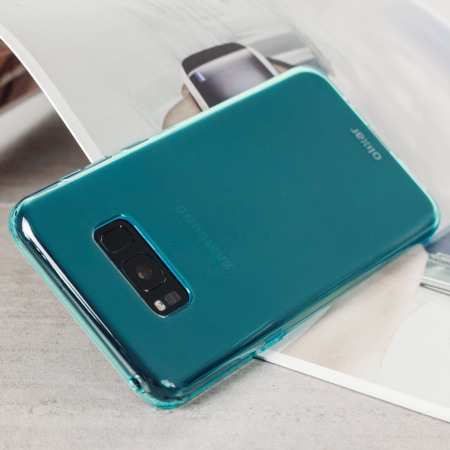 Olixar FlexiShield Samsung Galaxy S8 Gel Hülle in Blau