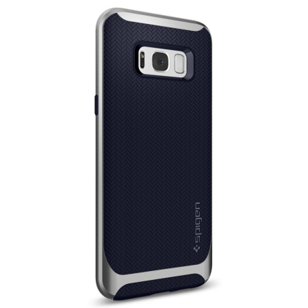 Funda Samsung Galaxy S8 Spigen Neo Hybrid  - Plata