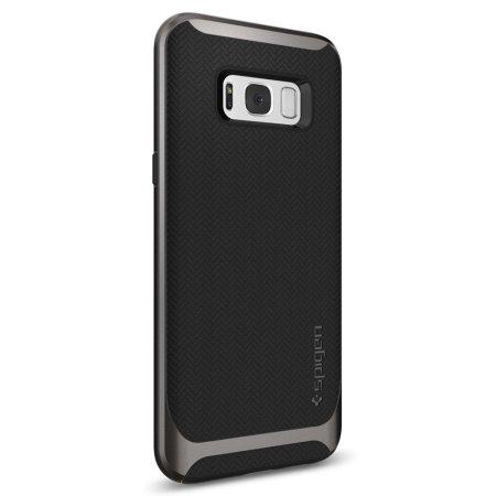 super popular 10b72 fcb86 Spigen Neo Hybrid Samsung Galaxy S8 Case - Gunmetal