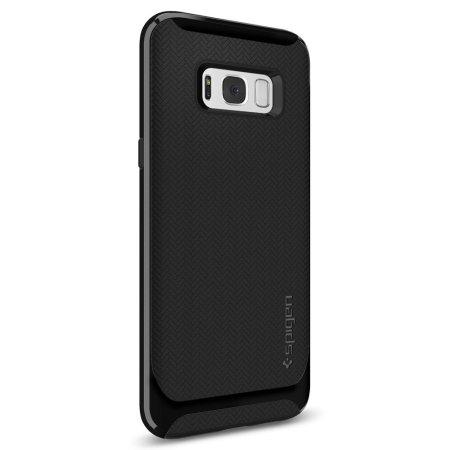 san francisco 43c04 f1cc9 Spigen Neo Hybrid Samsung Galaxy S8 Case - Shiny Black