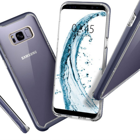detailed look 47688 f531a Spigen Neo Hybrid Crystal Samsung Galaxy S8 Case - Orchid Grey
