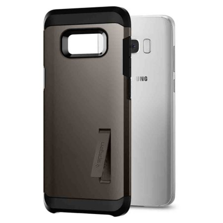 pretty nice 24178 0ad85 Spigen Tough Armor Samsung Galaxy S8 Case - Gunmetal