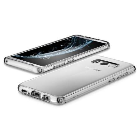 Spigen Ultra Hybrid Samsung Galaxy S8 Bumper Case - Clear