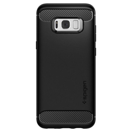 Spigen Rugged Armor Samsung Galaxy S8 Tough Case - Black