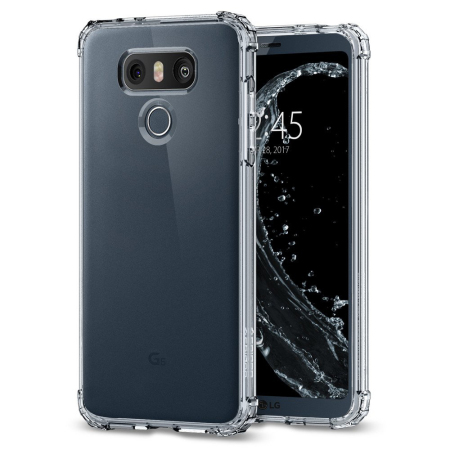 Spigen Crystal Shell LG G6 Case - 100% Clear