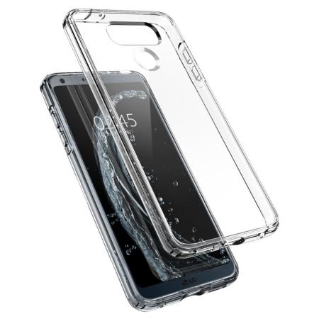 Spigen Ultra Hybrid LG G6 Bumper Case - Clear