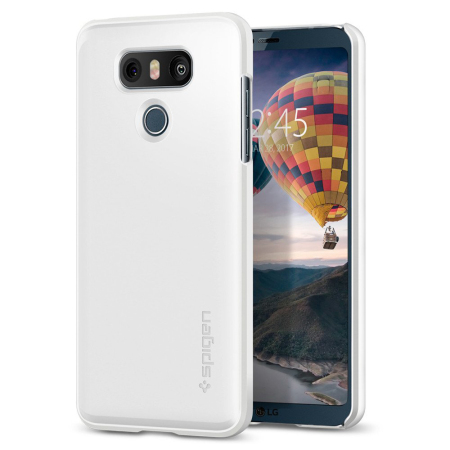 Spigen Thin Fit LG G6 Case - Shimmery White