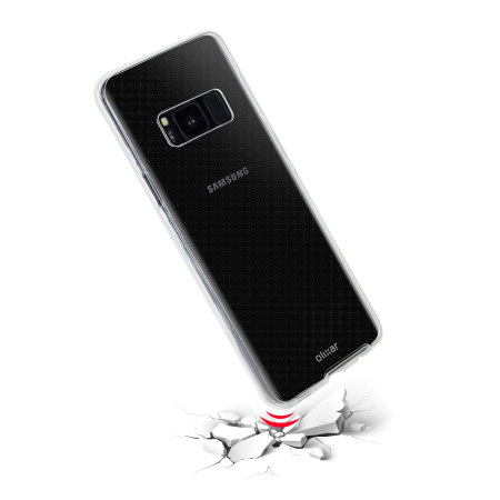 Olixar FlexiCover Complete Protection Samsung Galaxy S8 Case - Clear