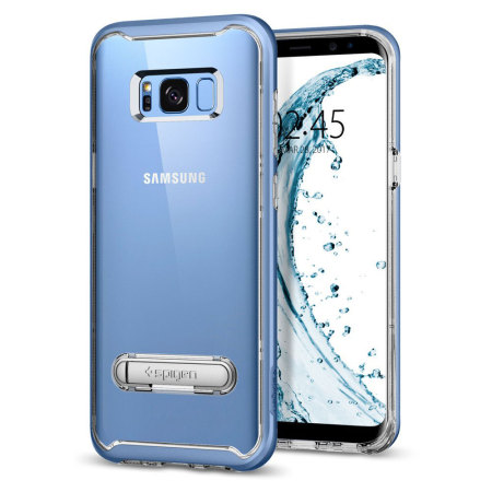 miss: this spigen crystal hybrid samsung galaxy s8 plus case blue coral 2 past