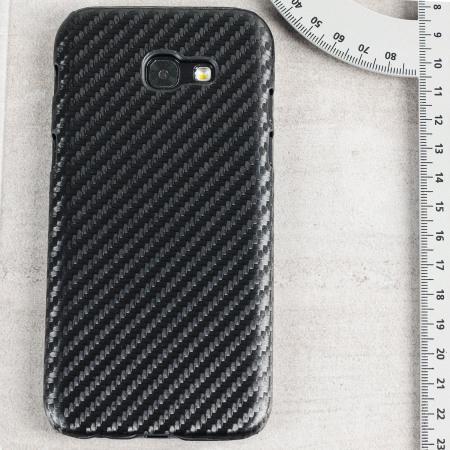 coque samsung a5 2017 fibre de carbone
