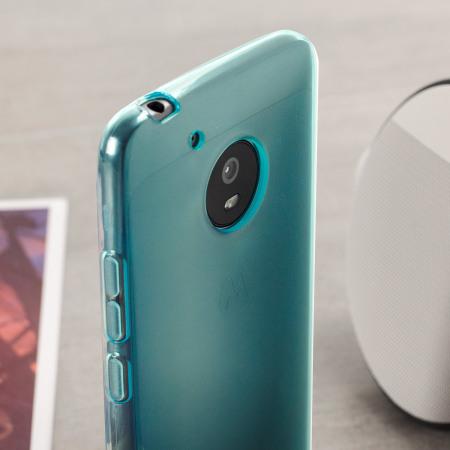 free shipping 0bada ea7ad Olixar FlexiShield Motorola Moto G5 Plus Gel Case - Blue