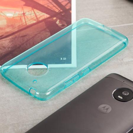 Olixar FlexiShield Motorola Moto G5 Plus Gel Case - Blue