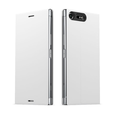 Official Sony Xperia XZ Premium Style Cover Stand Case - White