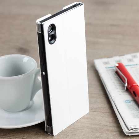 Official Sony Xperia XA1 Style Cover Stand Case - White