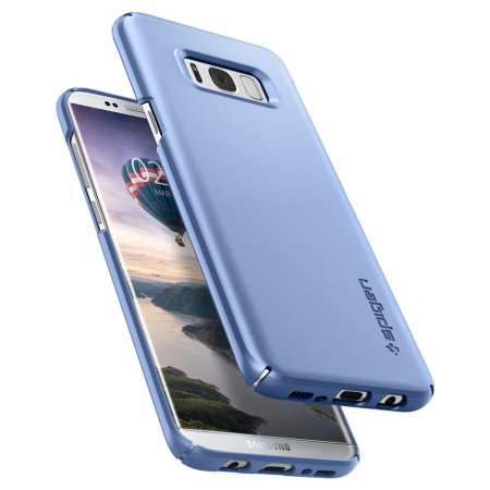 new styles 9edfb f9e2f Spigen Thin Fit Samsung Galaxy S8 Plus Case - Blue Coral