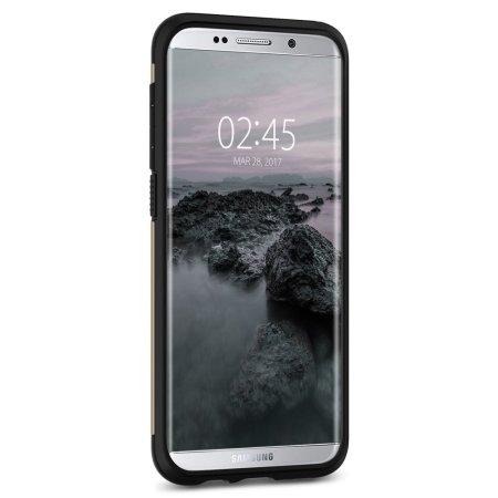 Spigen Slim Armor Samsung Galaxy S8 Plus Tough Case - Champagne Gold
