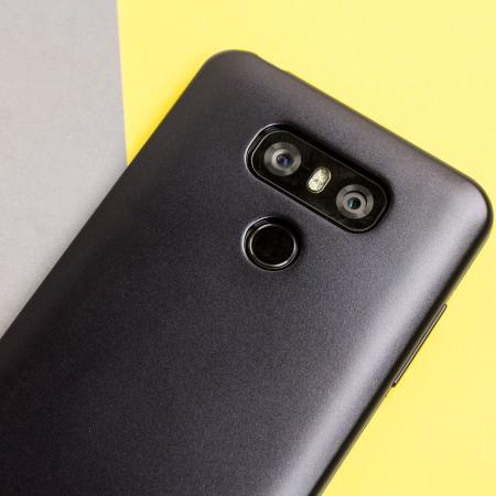 Mercury Goospery iJelly LG G6 Gel Case - Black